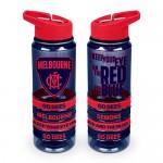 Melbourne DEMONS AFL Tritan Sports Bottle with Bands
