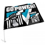 Port Adelaide  new release car flag size Size 27x38cm