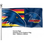 Adelaide Crows 180x90cm Outdoor Pole Flag.