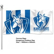 North Melbourne Kangaroos Outdoor Pole Flag