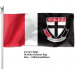 St Kilda Saints Outdoor Pole Flag