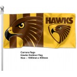Hawthorn outdoor flag 1800x900mm
