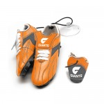 GWS Giants AFL Hanging Suction Footy Boots * Stick anywhere!