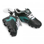 Port Adelaide Power AFL Hanging Suction Footy Boots * Stick anywhere!