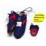Melbourne Demons AFL Hanging Suction Footy Boots * Stick anywhere!