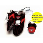 Essendon Bombers AFL Hanging Suction Footy Boots * Stick anywhere!