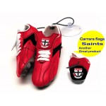 St Kilda Saints AFL Hanging Suction Footy Boots * Stick anywhere!