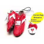 Sydney Swans AFL Hanging Suction Footy Boots * Stick anywhere!