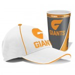 Greater western Giants AFL Cap and Tumbler Pack