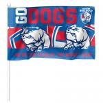 Western Bulldogs AFL Small kids flag