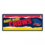 Adelaide Crows AFL Small Tin License Plate