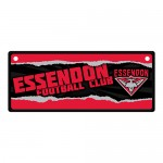 Essendon Bombers  AFL Small Tin License Plate