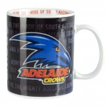 Adelaide Crows AFL Team Song Mug