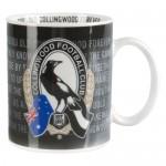 Collingwood Magpies AFL Team Song Mug