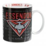 Essendon Bombers AFL Team Song Mug