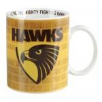 Hawthorn Hawks AFL Team Song Mug