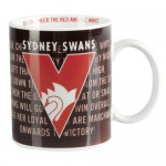 Sydney Swans AFL Team Song Mug