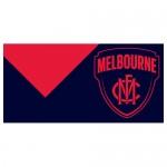 Melbourne AFL outdoor flag 1800mm x 900mm