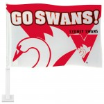 Sydney SWANS AFL Car Flag