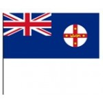 New South Wales state ( hand) Flag 15x30cm