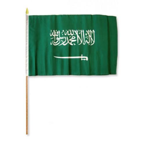 Saudi Arabia Miniature Small Table Desk Flag