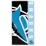 Cronulla Sharks NRL Beach Towel