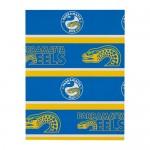 Parramatta Eels NRL Team Logo Gift Wrap