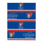 Newcastle Knights NRL Team Logo Gift Wrap