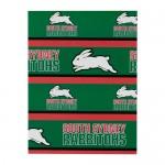 South Sydney Rabbitohs NRL Team Logo Gift Wrap