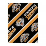 Wests Tigers NRL Team Logo Gift Wrap