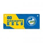 Parramatta Eels NRL Small Tin License Plate