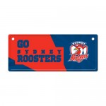 Sydney Roosters NRL Small Tin License Plate