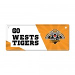 Wests Tigers NRL Small Tin License Plate
