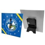 Parramatta Eels NRL Mini Glass Clock