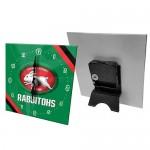South Sydney Rabbitohs NRL Mini Glass Clock