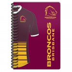 Brisbane Broncos NRL Licenced Notebook 2 pack.