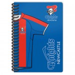 Newcastle Knights NRL Notebook with Team Logo 2 pack.