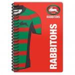 Sth Sydney Rabbitohs NRL Licenced Notebook 2 pack.