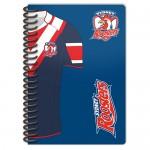 Sydney Roosters NRL Licenced Notebook 2 pack.