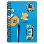 Gold Coast Titans NRL Licenced Notebook 2 pack.