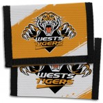 Wests Tigers NRL Velcro Wallets