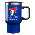 Newcastle Knights NRL Handled Travel Mug