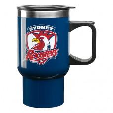Sydney Roosters NRL Handled Travel Mug