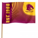 Brisbane Broncos Medium Flag 90x60cm