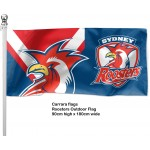 Sydney Roosters Outdoor Flag 1800mm x 900mm
