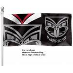 New Zealand Warriors Outdoor Flag  1800 x 900mm