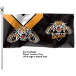 Wests Tigers Outdoor Flag 1800mm x 900mm