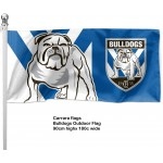 Canterbury Bulldogs Outdoor Flag  1800mm x 900mm
