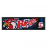 Sydney Roosters NRL Rubber Back Bar Runner.