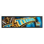 Gold Coast Titans NRL Rubber Back Bar Runner